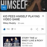 @ItsMikeyMurphy Your video was really cool but kinda scary 😓 Also, youre so cute 😍 Please, follow me? Ilysm 💕 http://t.co/EgjET6Jtmy 150