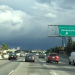 The sky is getting dark as we head to San Jose. Were seeing reports of hail around the Bay Area. http://t.co/ClqpuJPN8x