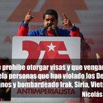 .@NicolasMaduro prohíbe otorgar visas a estadounidenses que han violado los Derechos Humanos | http://t.co/gbVSsK4b0H http://t.co/0TJd20HC7T