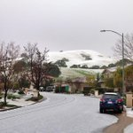 NEW PHOTOS: A hailstorm rolls through South Bay. One viewer sent us this photo from San Jose. http://t.co/ptv3paMWEv http://t.co/wbUFv68Q3f