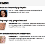 I think it's the plurality of diverse opinions that makes the Tele so worth reading http://t.co/XOyftDcGhE