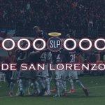 GOOOOOOOOOOOOOOOOOOOOL DE SAN LORENZO. Cetto de cabeza lo empata y ahora #SanLorenzo 1 - 1 San Martín. http://t.co/Yd2Gck8fui