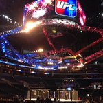 The UFC ends its inexplicable two-year absence from SoCal with UFC 184 at Staples tonight. FS1 prelims start now. http://t.co/LLdFJptz5G