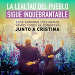 Mañana presente por la Democracia,por el Proyecto por ella @CFKArgentina #1MTodosConCristina HISTORICO!!! http://t.co/jOJpHAO9mE