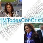 #1MTodosConCristina Vamos Carajooooooo #1MTodosConCristina http://t.co/qcwHlDfKsy