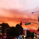And there were Biblical clouds above The Mission And lo, the hipsters heardeth thunder #sf http://t.co/RYKH0JEim7