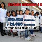 #LasCosasComoSon #Salta se prepara para volver a clases! Gobierno y Docentes acordaron aunar esfuerzos y trabajo. MG http://t.co/tJV4Xfr5iv