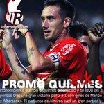 2X1: Promo Quilmes. La Tapa de @InfiernoRojo del triunfo, con el festejo de @fedemancuello #Independiente http://t.co/3Qrpvd59vK