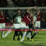 Penal a Cetto cuando se disponía a convertir el segundo gol de #SanLorenzo. Abal no lo cobró. http://t.co/YVMb3DdaFe