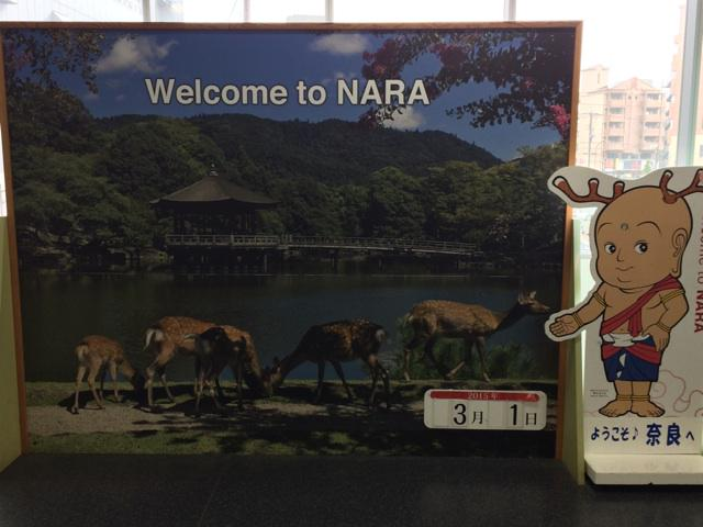 でも奈良の鹿って茨城から持ってったんですよ(日本の神さま情報) RT @toru_master2 予想通りなムードで出迎えてくれて、嬉しくなってくる(笑) http://t.co/20sOSngiA6