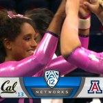 "Great job!! ""@Pac12Networks: Lets hear it for @AZGymnastics! They down the No. 13 Golden Bears in McKale. #CALvsAZ http://t.co/Ts3HjCY4Eb"""