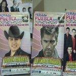 Presentan cartel oficial del palenque para la Feria de Puebla 2015. http://t.co/dvhzkNLoZq http://t.co/XyPr0quLPj