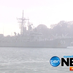 HMAS #Sydney makes its final journey back into port; will now be decommissioned after 30 years of service. #TenNews http://t.co/amzuqNtcZ8