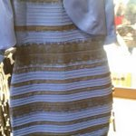 This is just insane! #TheDress initially I said white and gold. But as I am posting this, I see it's blue and black!