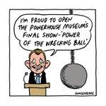 The Powerhouse Museums final show..http://t.co/2JDp8TSlEg @smhletters #auspol #nswvotes http://t.co/8xxGp801ll