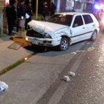Accidente vial en Animas Trujano a pocos metros de la Bimbo, km 8. #Oaxaca http://t.co/iSggAWWOLQ
