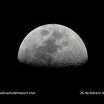 La luna esta noche en el cielo de #México, robando suspiros... http://t.co/SHxvKrzC9J