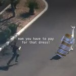 mam, you have to pay for that dress! #thedress http://t.co/BPlYihZFDA