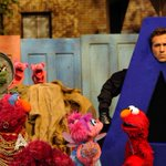 That time on Sesame Street when I charmed the children with my face popping out of an A-hole. #theletterA http://t.co/Hq5aCJHCQY