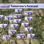 A few mountain #showers, otherwise considerable clouds & #seasonal #temperatures. @weathercaster #utwx http://t.co/HvOOTOcz9b