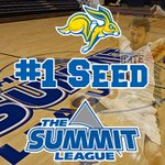 With @NDSUathletics loss, @GoJacksMBB has clinched 1 seed for @thesummitleague tournament. #OwnTheMoment http://t.co/zY5g5jYSH4