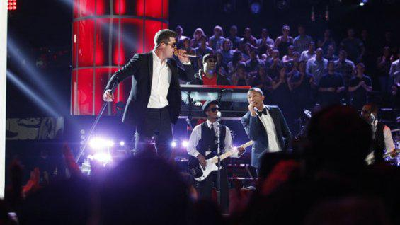 'Blurred Lines' Trial: Motown Executive Testifies to Songs' Similarity