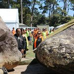Six huge pounamu boulders gifted to Canterbury Museum in 1996, will be on display at Te Matatini  #TeMatatini2015 http://t.co/ci1sTEjbLU