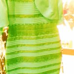 Youre all wrong -- #TheDress is green & gold. #SicEm (via @TyrannyOfStyle) http://t.co/2jPkzEVikS