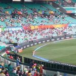 The crowd is nicely building at the @scg @cricketworldcup @FoxCricket #CWC15 #SAvsWI http://t.co/M5wVAkvDzI