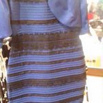 What color is this dress image goes viral; Internet weighs in>> http://t.co/tGgcST82AZ #whiteandgold #blueandblack http://t.co/Rq1Q5sXVsu