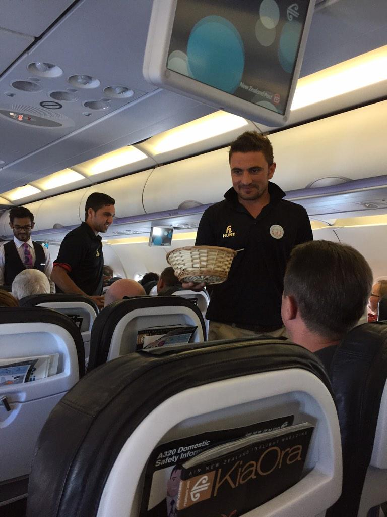 Afg's reward for 1st WC win was a 9-hour journey to Perth. Team applauded as they gave out sweets on leg to Auckland http://t.co/jbsabUuRnV