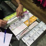Tiket~ Bagi sesiapa yg belom ada tiket boleh dapatkn juak di Lea Centre City One Megamall Kuching. #SarawakVsKelantan http://t.co/geNtSQRCGl