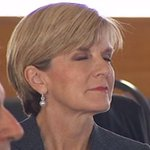 """""""@KJBar: 😴😴🐑🐑 @JulieBishopMP http://t.co/9cMWXGCGeY"""" Not sleeping merely contemplating the media obsession with trivia 😺"""