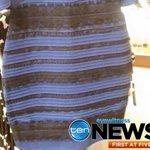 #Dressgate: #whiteandgold or #blueandblack? The question that has divided the internet, #TenNews 5pm http://t.co/QvPzHNjMzw