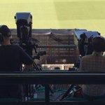 Am I sitting behind Joe The Cameraman at #SAvWI? #CWC15 #WIvSA http://t.co/ndNQqDjB9P