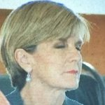 .@JulieBishopMP nods off during @TonyAbbottMHRs speech to NZ PM John Key. http://t.co/tJG9CorJ6F http://t.co/AeVswiaJB8