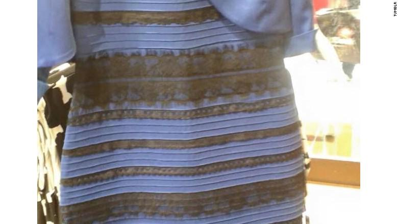 Фото платье белое с золотым или синее с чёрным