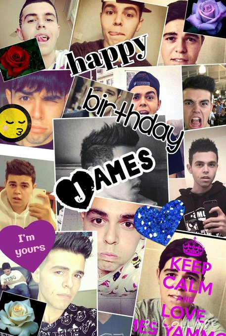 happy birthday to you James hope you have a good day
