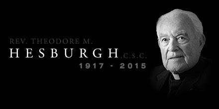 With heavy hearts, we announce the passing of Fr. Theodore M. Hesburgh, C.S.C. http://t.co/fNf4qQfnJu http://t.co/yRKpzTPgdW