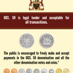 UGX.50 is legal tender and acceptable for all transactions #Uganda http://t.co/virbP2Andb http://t.co/FW7vgj7ViR