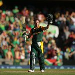 408 for 5! Fastest ever 150 for AB 30 off the final over! #cwc15 everybody!! http://t.co/uqe2RtKCAx #SAvWI http://t.co/VcTUax8fiW