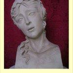 Boceto en barro de Claudia Procula,escultor Pablo Román,será estrenada este Lunes Santo en el paso del Señor. http://t.co/mEdKGNw4Qu