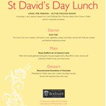 A traditional Welsh feast this #StDavidsDay in the Hayloft with @ElisThomasD @masterchef57 http://t.co/OAq2Eq4UhC http://t.co/hpwi37qfdU