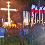 En Isla Orrego, frente a Constitución, recordaron los muertos por el tsunami http://t.co/7TKxr0y0sr
