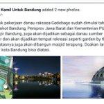 "#DanauRaksasaGedebage Untuk mengatasi banjir, Bandung JUARA!! ???????? @ridwankamil http://t.co/JU9LseGyOZ"""