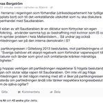"""""""@BergstromJonas: http://t.co/7Jq9vaYc3U"""" ja vad säger ni @socialdemokrat ? Varför sån förakt för demokrati och era väljare? #svpol #saudi"""