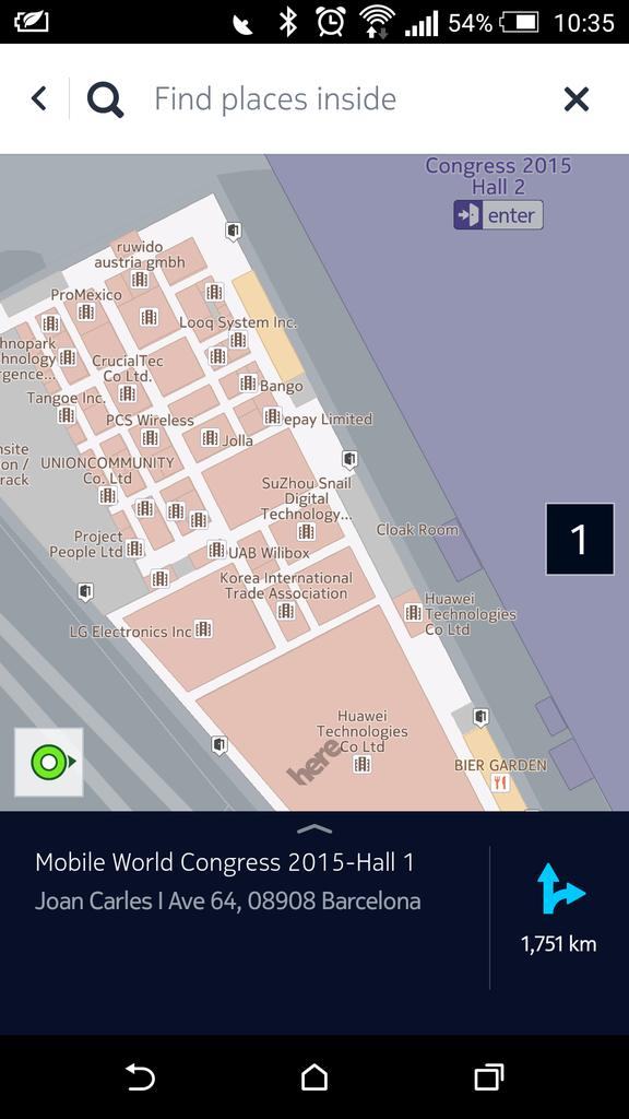 Great, @here maps have indoor maps of #mwc15 halls http://t.co/MAnlYc1UQp
