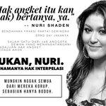 Hahahaha... karena Nuri Shaden tak paham jadi anggota DPRD DKI... maka saya #SaveAhok #KitaJagainAhok ~ @PedomanNEWS http://t.co/oRpTzocr1c