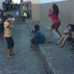 DSWD do something? Government look at our kids.. This was right behind Antipolo Church. http://t.co/tAVB8bobST
