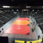Were 90 minutes away from the start of the state wrestling championships at the @PREMIER_Center. #SDWrestling15 http://t.co/ieHlLxZMGb
